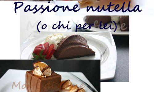 Passione Nutella, ricettario gratis