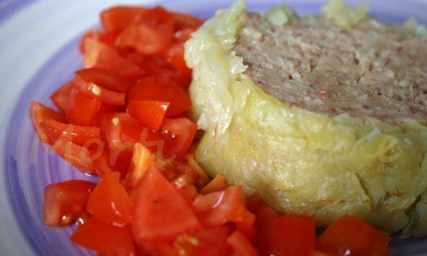 Polpettone in crosta di patate, ricetta risparmiosa
