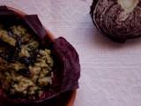 risotto al radicchio avocado vegan morti di fame