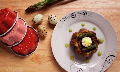 Sformatini di asparagi, ricetta veloce