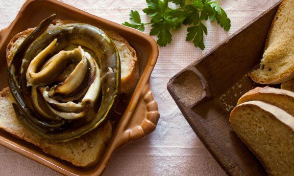 Zuppa di anguille, ricetta sarda
