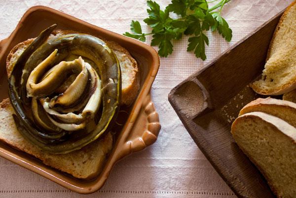 zuppa di anguille morti di fame