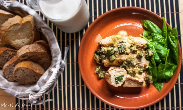 Involtini di maiale light, ricetta facile e veloce