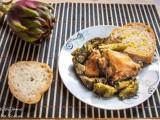 pollo e carciofi morti di fame