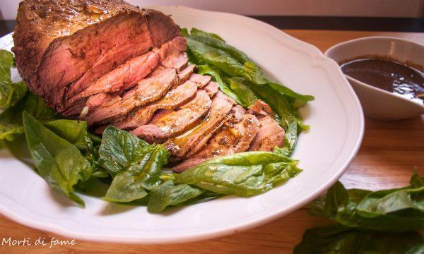 Roast beef ai tre pepi, ricetta facile