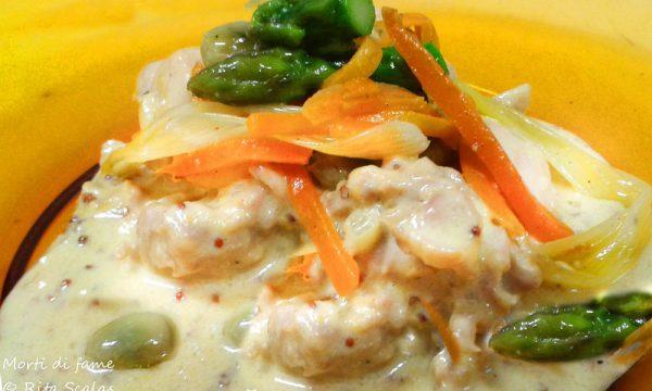 Coniglio alla senape, ricetta tradizionale francese