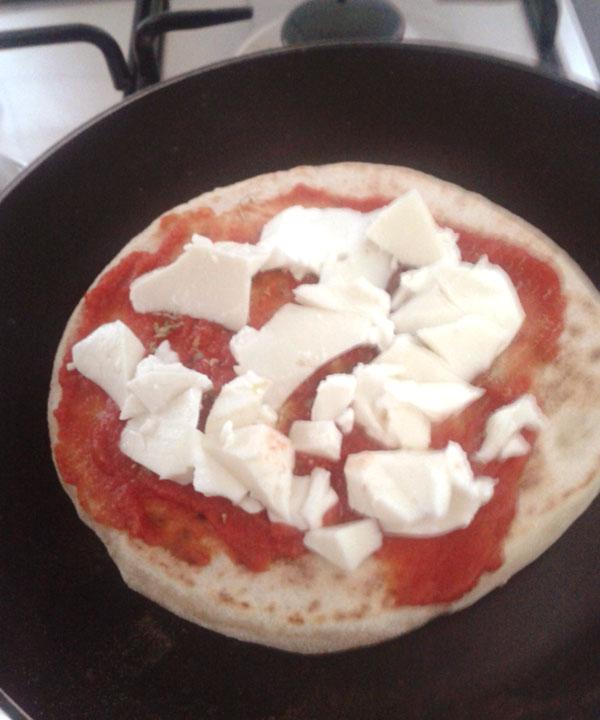 pizza in padella veloce morti di fame