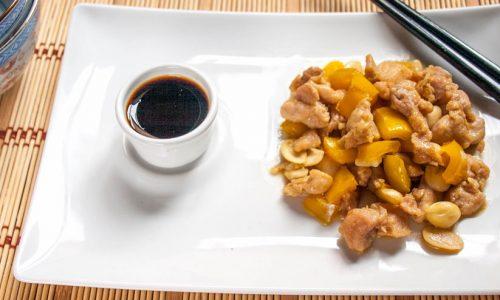 Pollo peperoni e mandorle chinese style, ricetta facile