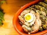 sformato pollo e spinaci morti di fame