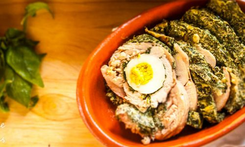 Sformato di pollo con ricotta e spinaci, ricetta facile