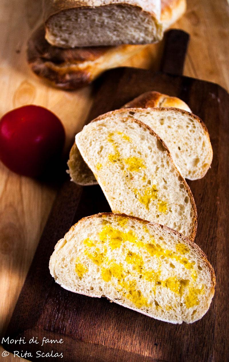 pane con pasta madre e semola morti di fame