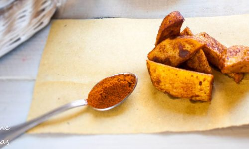 Patatine fritte alla paprika Mcdonald style, ricetta facile