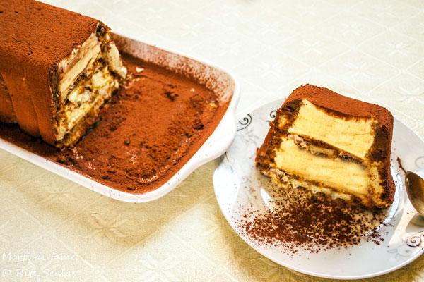 torta gelato al tiramisù morti di fame