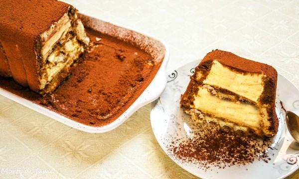 Torta gelato al tiramisù, ricetta senza gelatiera