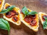 mini quiche con pomodorini confit morti di fame
