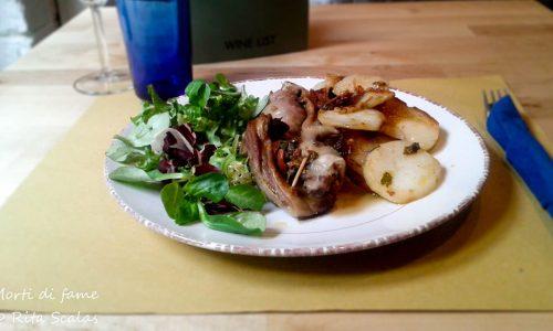 Involtini di agnello con patate, ricetta facile