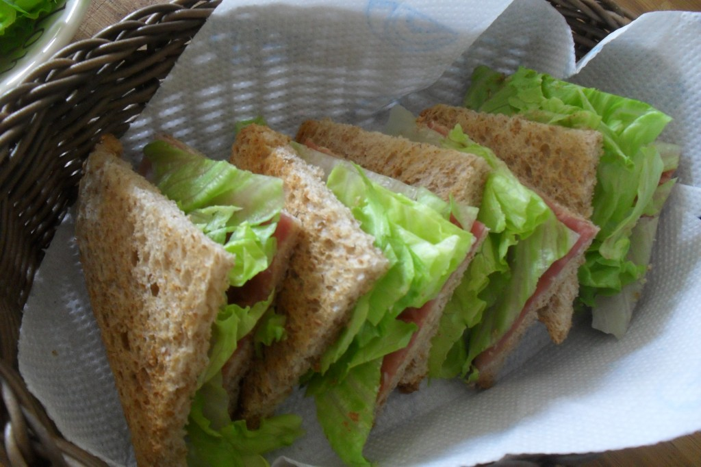 Panino al crudo con insalatina, diario di una dieta - Giorno 215, Mangia senza Pancia