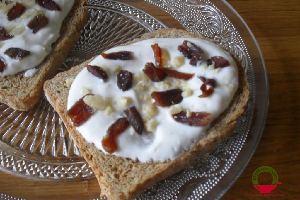 Frutta secca on toast, diario di una dieta - Giorno 32, Mangia senza Pancia