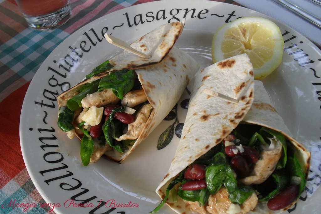 Burritos light, ricetta etnica, Mangia senza Pancia