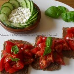 Finta Fresella al Pomodoro e Fiocchi, menu dieta weight watchers, Mangia senza Pancia