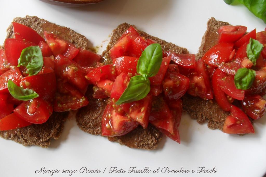 Finta Fresella al Pomodoro e Fiocchi, diario di una dieta - Giorno 410 - Pesata 54, Mangia senza Pancia