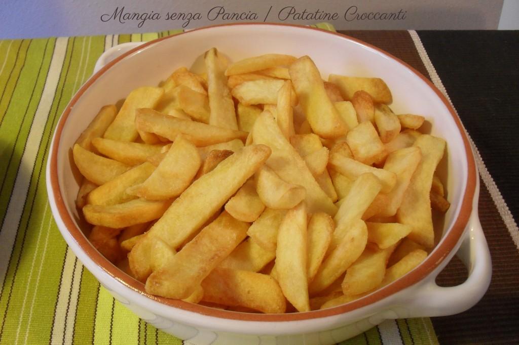 Patatine Croccanti, diario di una dieta, Mangia senza Pancia