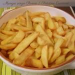 Patatine Croccanti, menu dieta weight watchers, Mangia senza Pancia