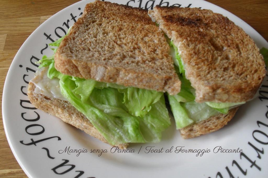Toast al Formaggio Piccante, diario di una dieta - Giorno 413, Mangia senza Pancia