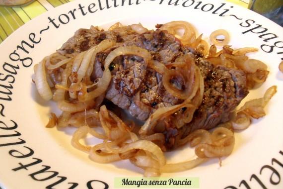 bistecca e cipolle, oltre la dieta: il diario - 4 marzo 2014, Mangia senza Pancia