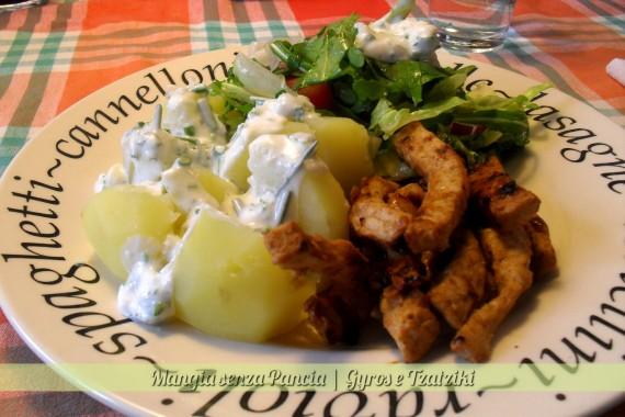 Gyros e Tzatziki, ricetta etnica, Mangia senza Pancia