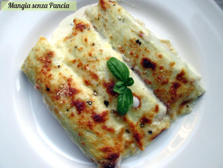 Ricetta crespelle salate ricotta e spinaci