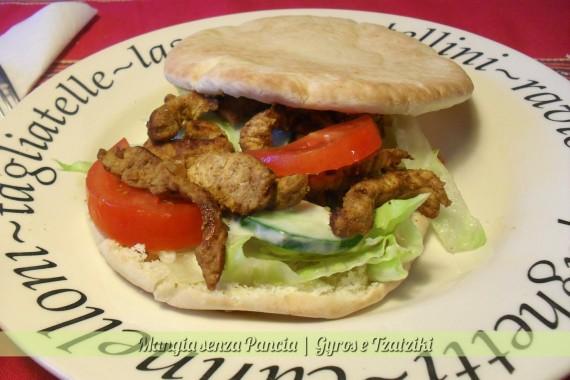 Gyros e Tzatziki, ricetta etnica, diario di una dieta - Giorno 27, Mangia senza Pancia