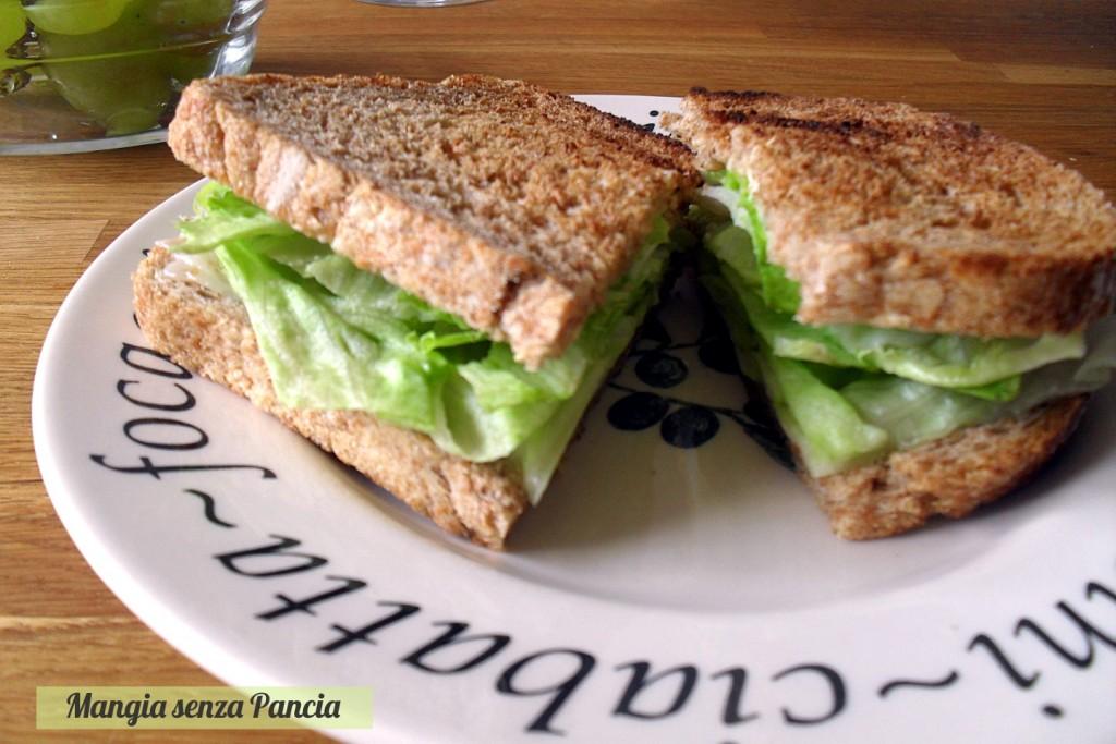 Toast al Formaggio Piccante, Mangia senza Pancia
