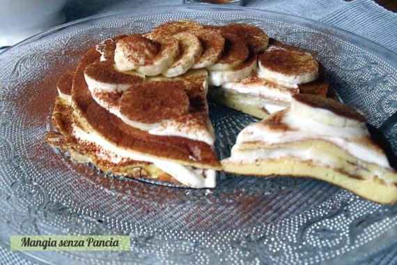 Pancakes leggeri con Banana e Quark, Mangia senza Pancia