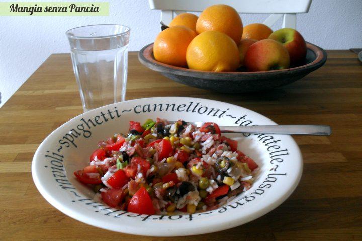 Insalatina di riso veloce, Mangia senza Pancia