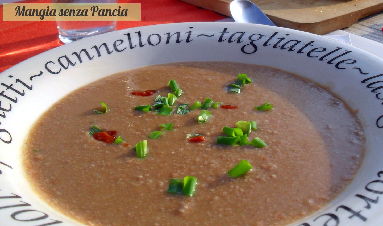 Zuppa di Borlotti, ricetta leggera, Mangia senza Pancia