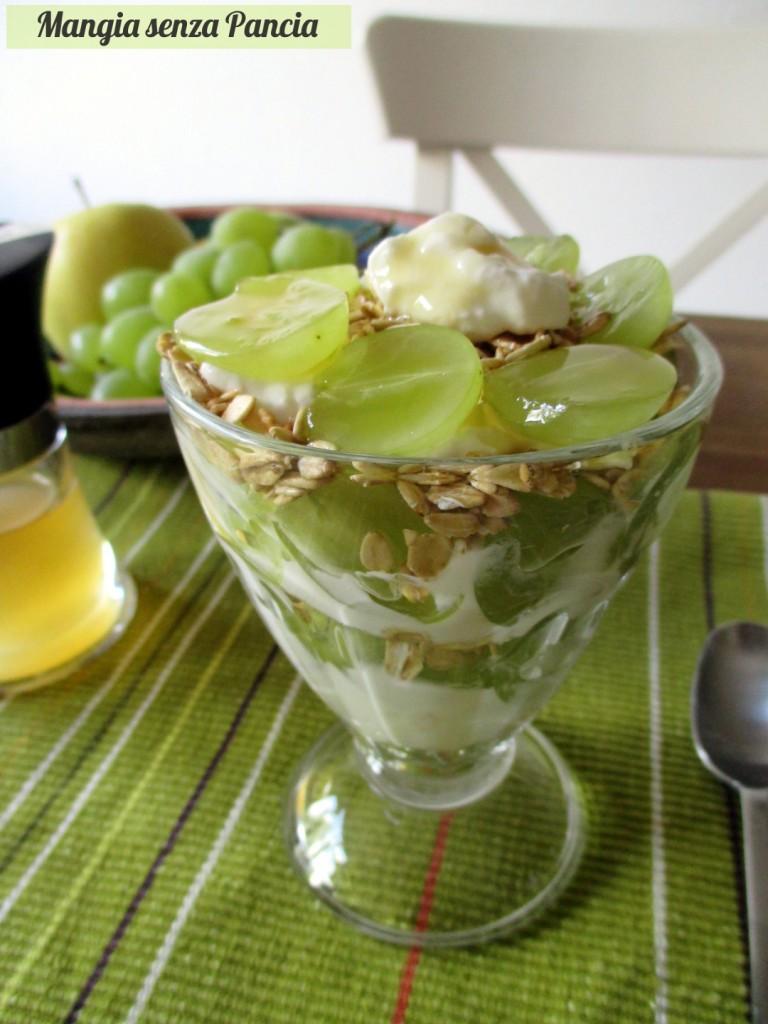 Composta di frutta con avena e quark, Mangia senza Pancia