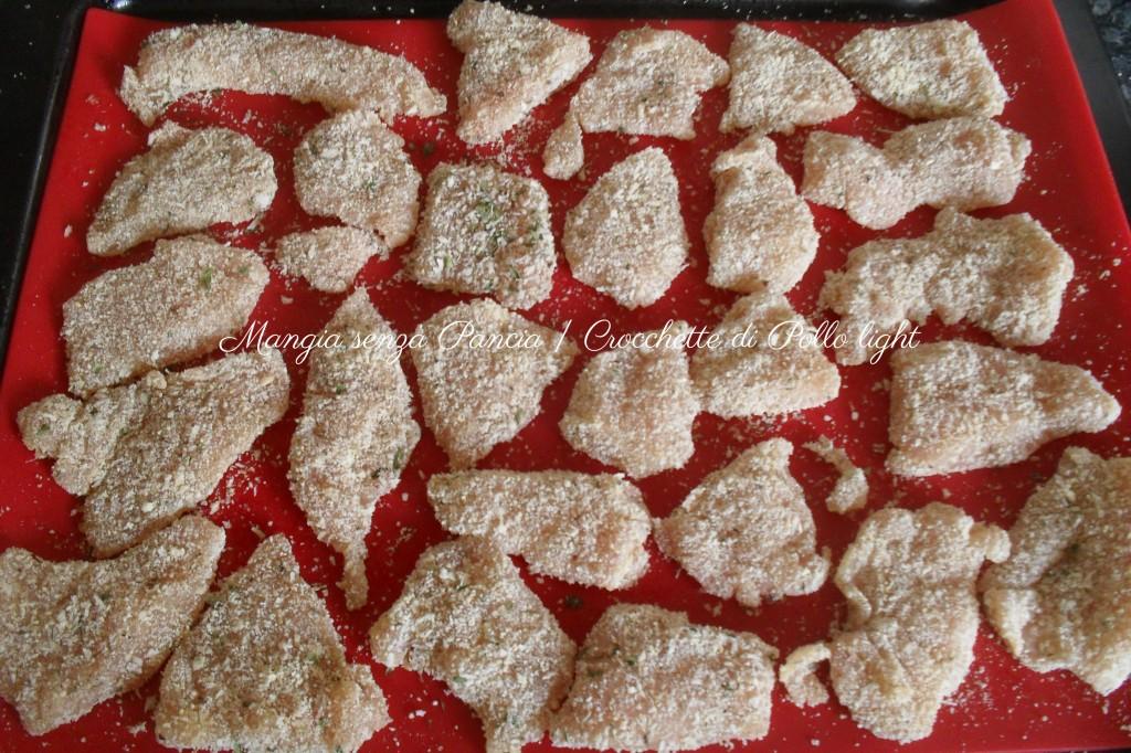 Crocchette di Pollo light, ricetta facile, Mangia senza Pancia