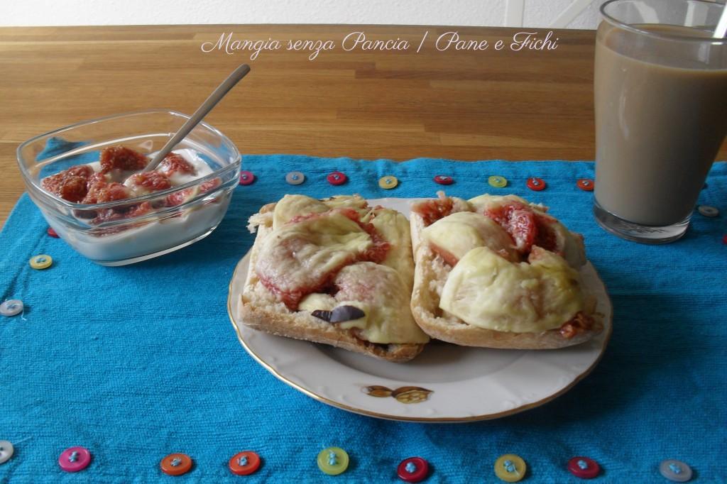 Pane e Fichi, ricetta dolce, Mangia senza Pancia