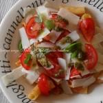 Pasta fredda tricolore, menu dieta weight watchers, Mangia senza Pancia