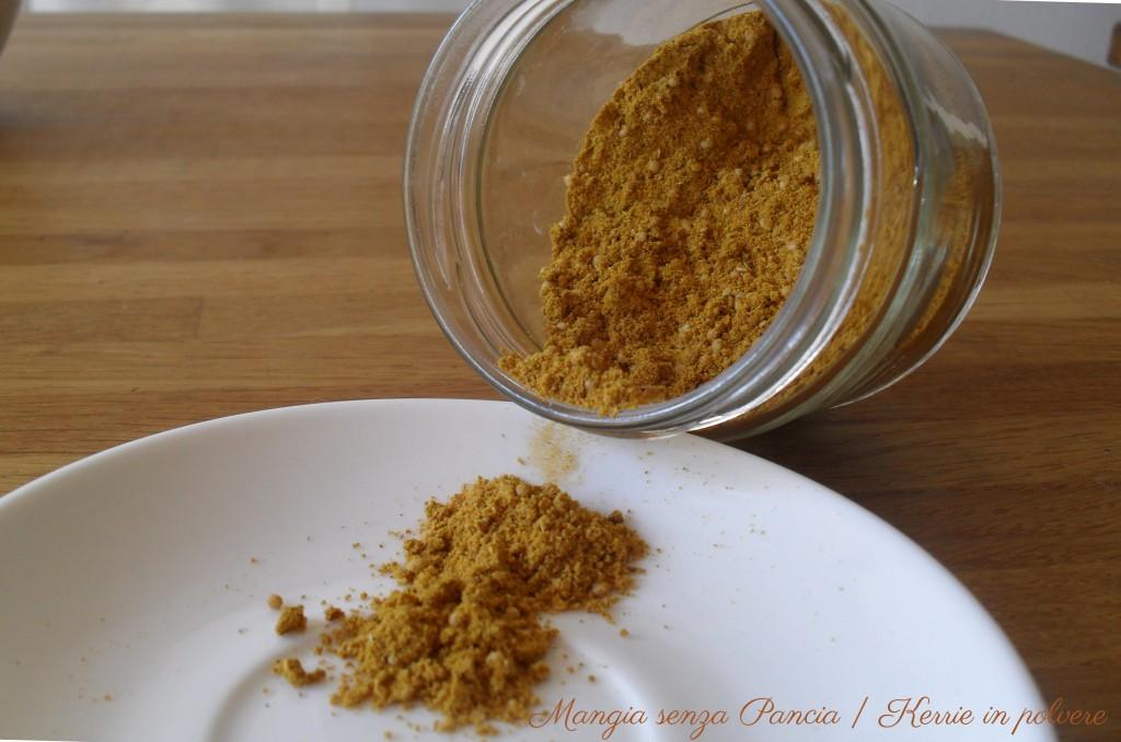 Curry in polvere, ricetta base, Mangia senza Pancia