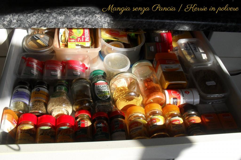 Spezie - il mio cassetto, diario di una dieta - Giorno 27, Mangia senza Pancia