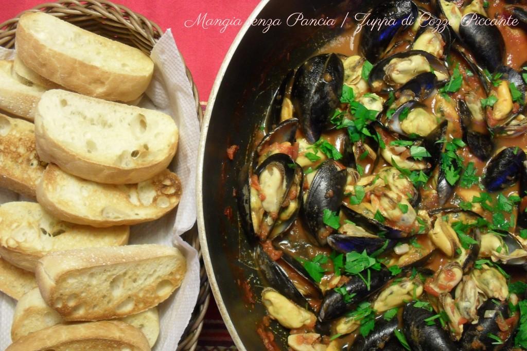 Zuppa di Cozze Piccante, oltre la dieta: il diario - 8 marzo 2014, Mangia senza Pancia
