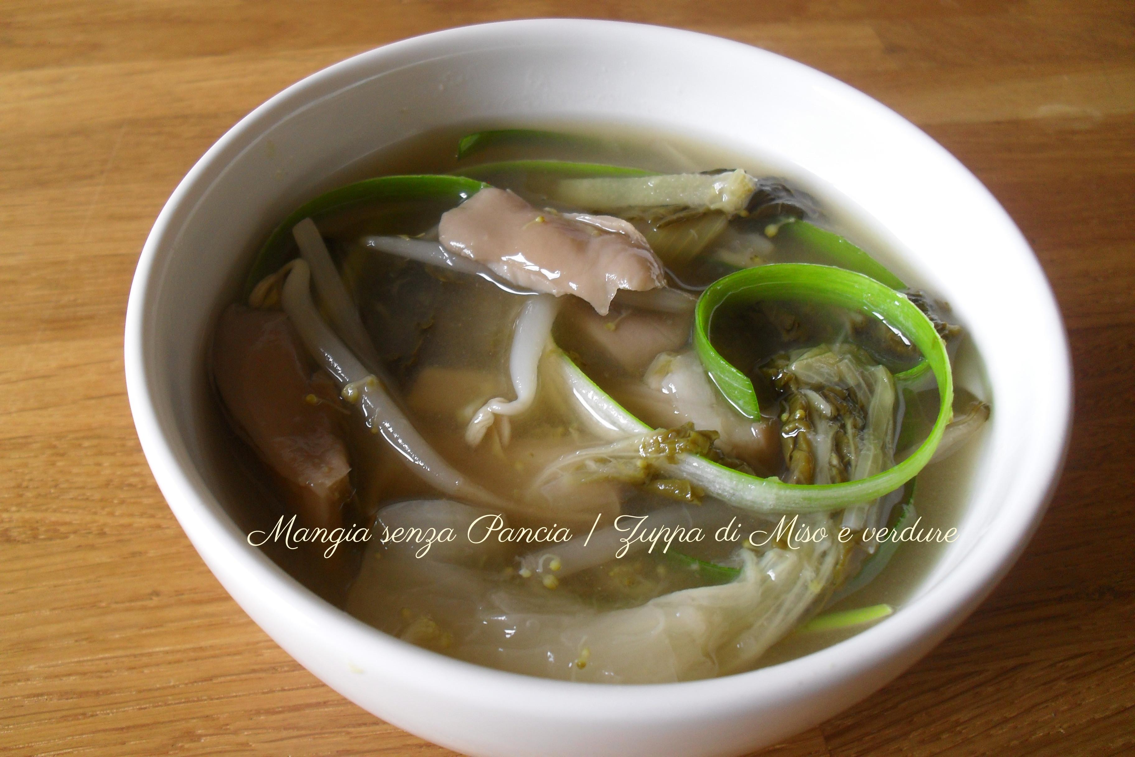 Zuppa di Miso e verdure, ricetta giapponese
