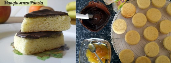 Dolcetti stile Jaffa Cakes, Mangia senza Pancia