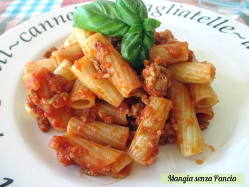 Rigatoni alla bolognese light, diario di una dieta - Giorno 100, Mangia senza Pancia