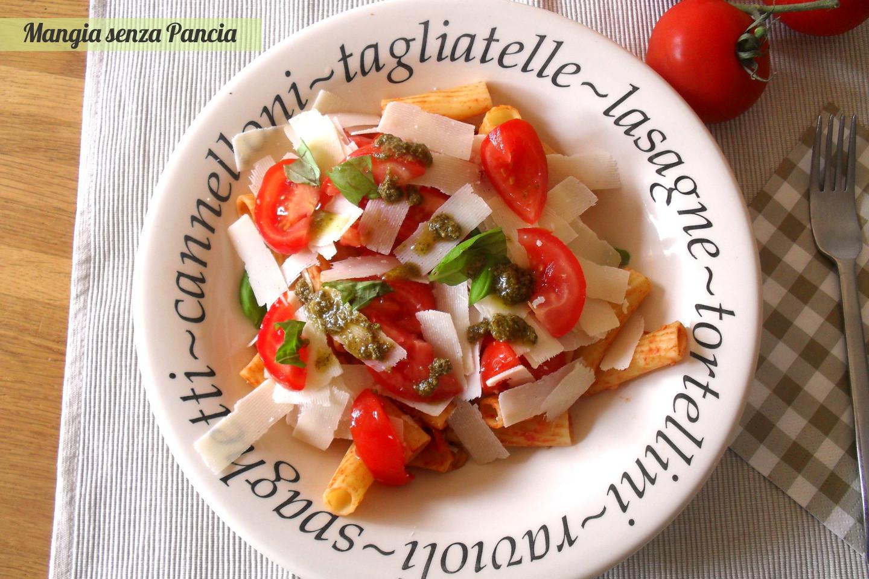 Pasta fredda tricolore, ricetta svuotafrigo