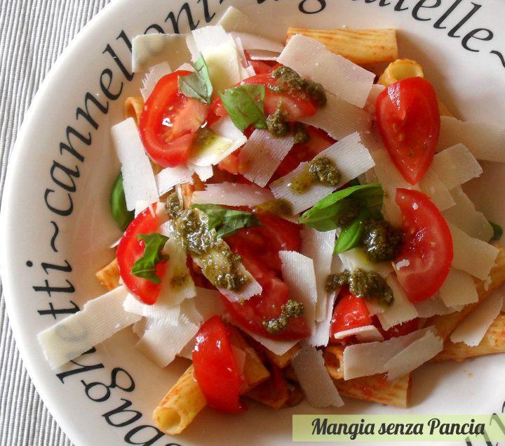 Pasta fredda tricolore, Mangia senza Pancia