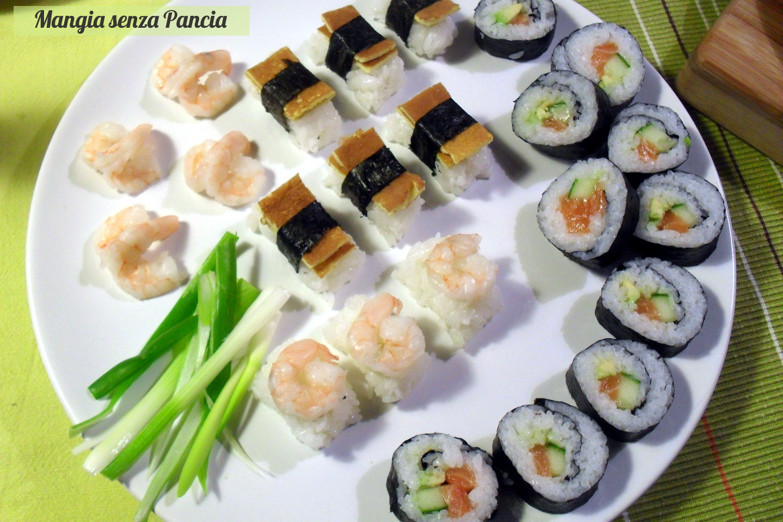 Sushi Futomaki e Nigiri, ricetta giapponese