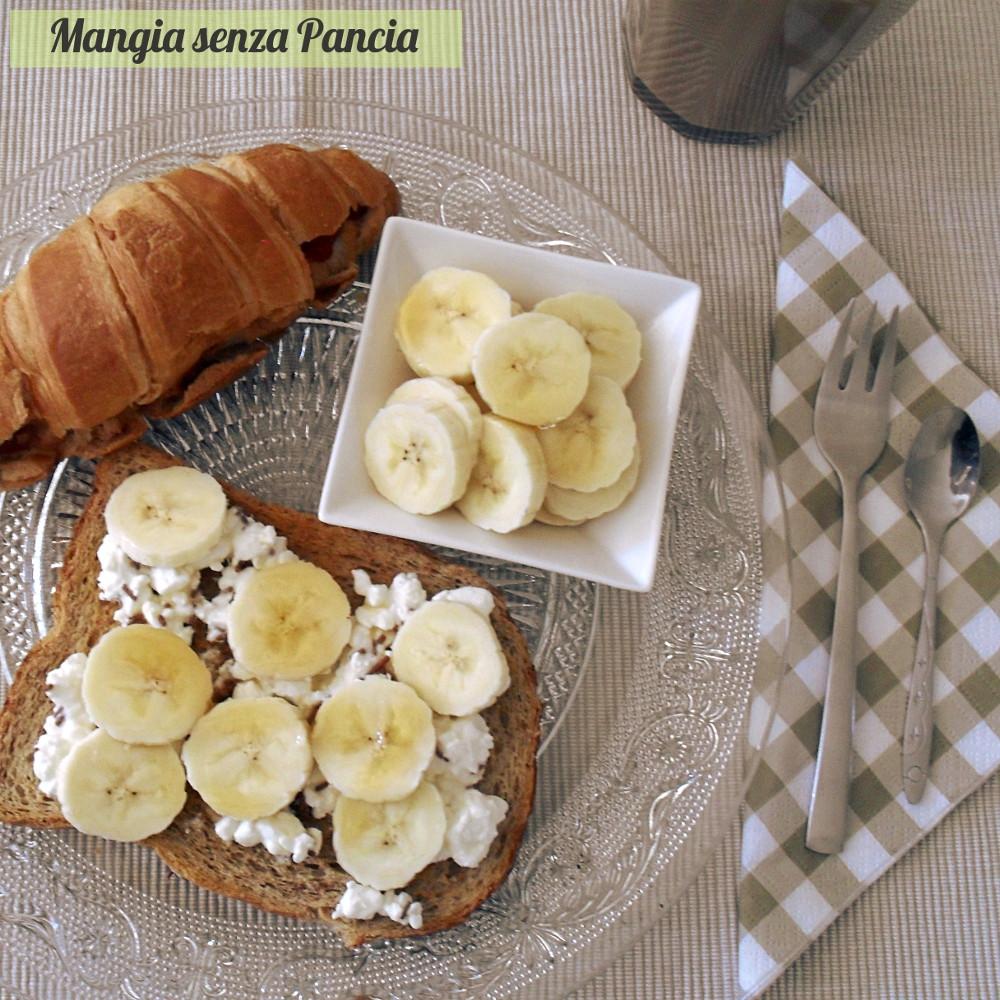 Brunch veloce dolce, ricetta colazione-pranzo, Mangia senza Pancia